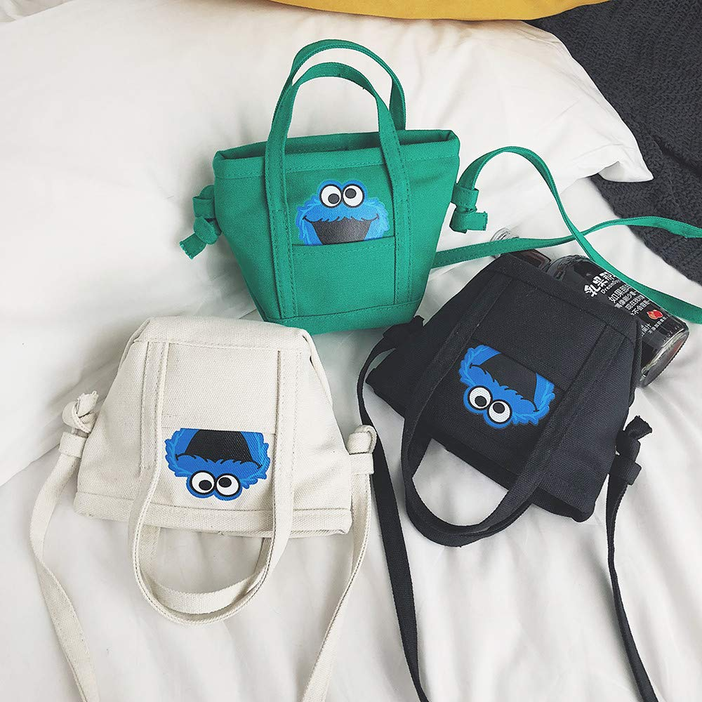 JJLIKER Women Patterned Canvas Crossbody Handbags Totes Satchels Handle Top Crossbody Shoulder Messenger Bag Pack
