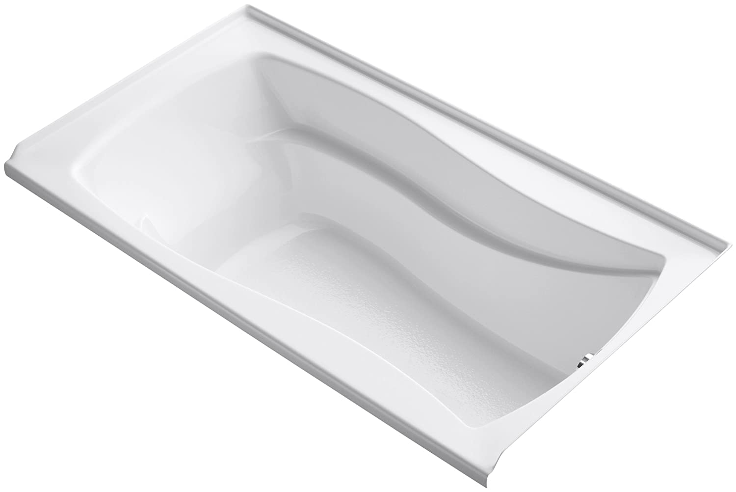KOHLER K-1229-R-0 Mariposa 5.5-Foot Bath, White