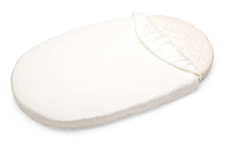Stokke–Spannbettlaken® weiß 105101