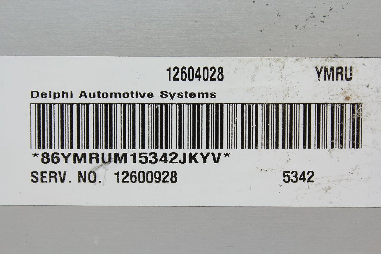 Pontiac 06 G6 12600928 Computer Brain Engine Control ECU ECM EBX Module
