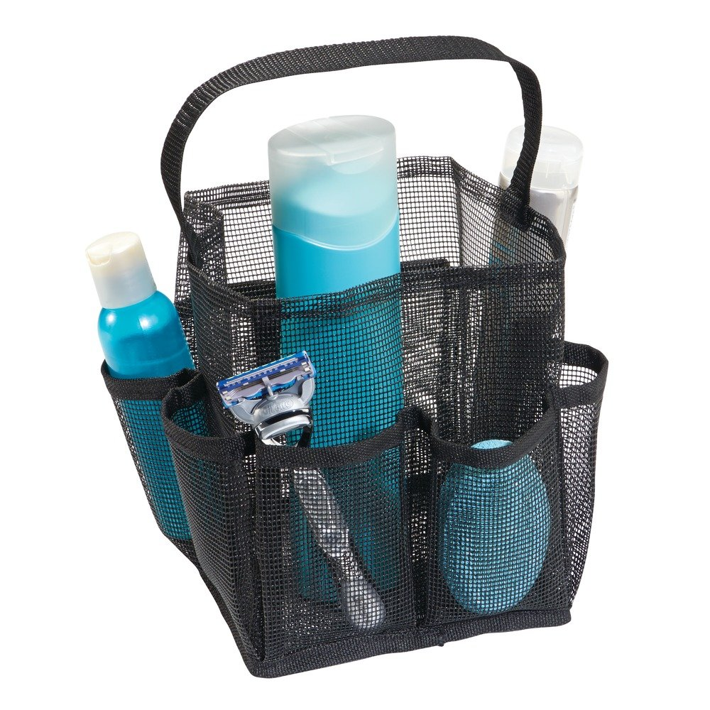 Amazon.com: InterDesign Una Bathroom Shower Caddy – Mesh Tote ...