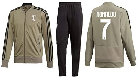 online store e5792 99d3e Kitbag Cristiano Ronaldo Juventus #7 Kids Soccer Tracksuit Track Jacket  with Pants Youth Sizes