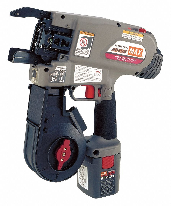 Max, RB655, Rebar Tying Tool Kit, 9.6V, 16 ga. 71SD4UtYibL._SL1073_