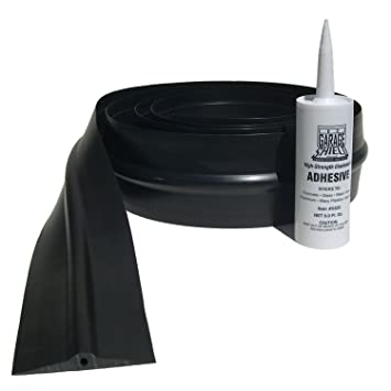 10 ft garage doorGarage Shield GS10 Black 10 Ft Garage Door Threshold with Adhesive