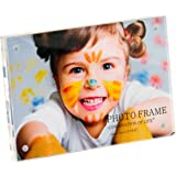 4 x 6 Inch Desktop Frameless Acrylic Magnetic Photo Frame Clear by Combination of Life