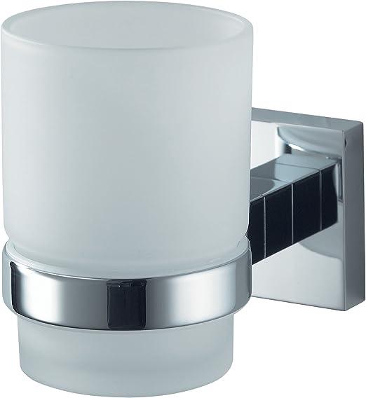 B-Ware Haceka Mezzo Chrome Glas-Seifenhalter Neu