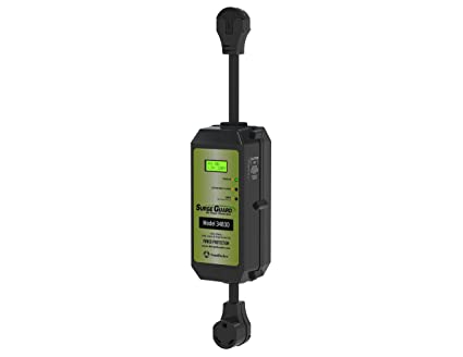 Surge Guard 34830 Portable Model with LCD Display - 30 Amp