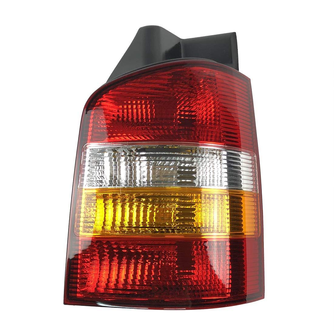 PICFA 7H5945095 ABS-Kunststoff R/ücklicht Abdeckung Links f/ür Volkswagen Vw T5 Transporter Multivan Caravelle California 03-09 Gelb R/ückleuchte