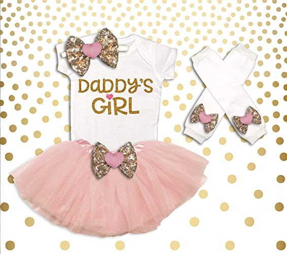 ace101ce61db Amazon.com  Baby Girl Clothes Daddy s Girl
