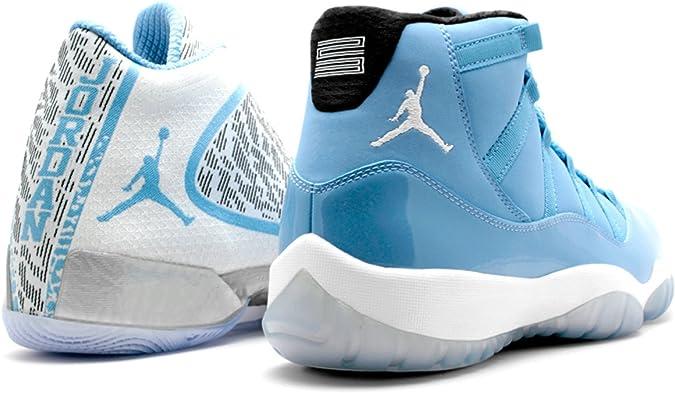 Jordan Air Ultimate Gift of Flight Pantone Pack Retro XI Men's Shoes Blue/White/Black 717602-900 (8 D(M) US)