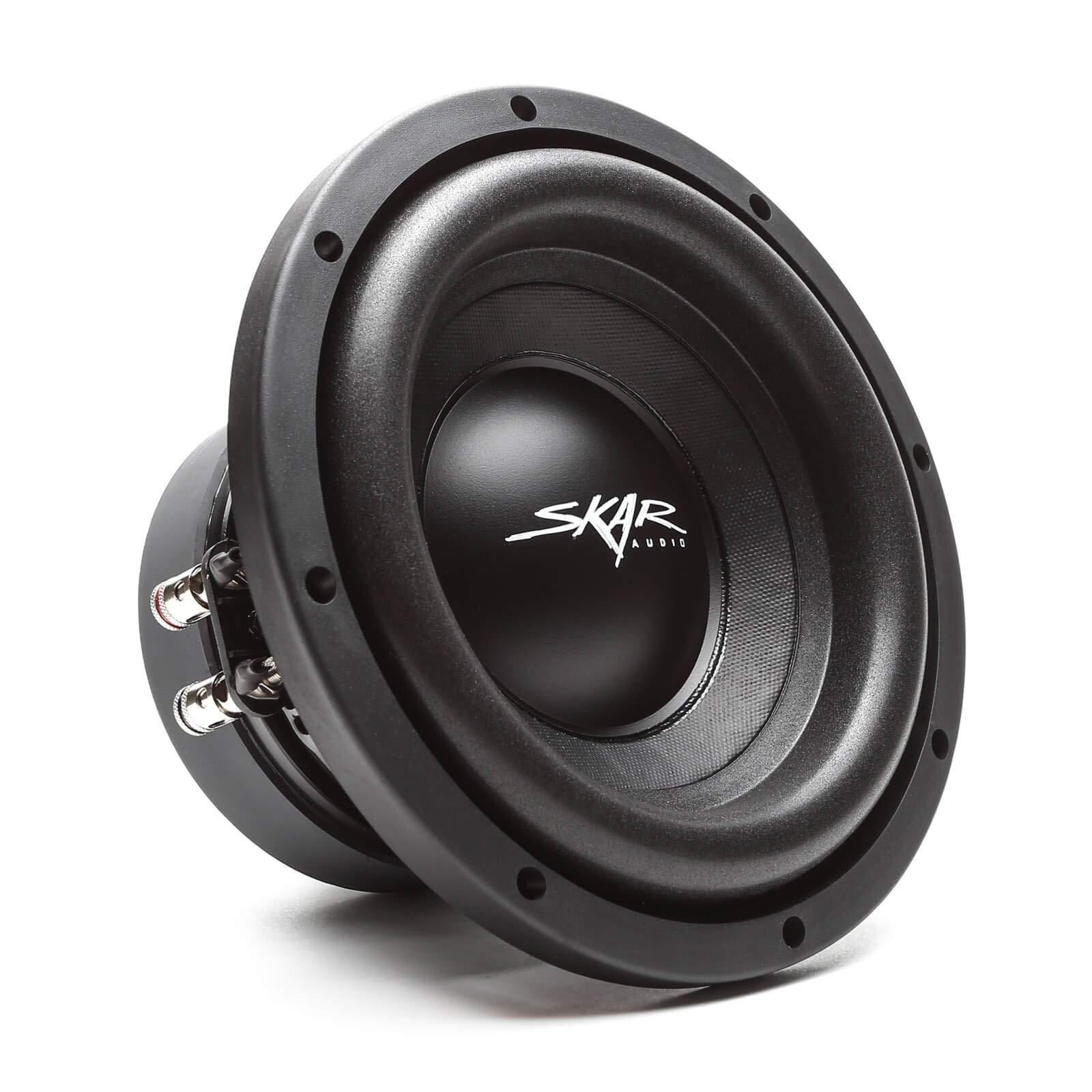 Skar Audio SDR-8 D4 8'' 700 Watt Max Power Dual 4 Ohm Car Subwoofer by Skar Audio