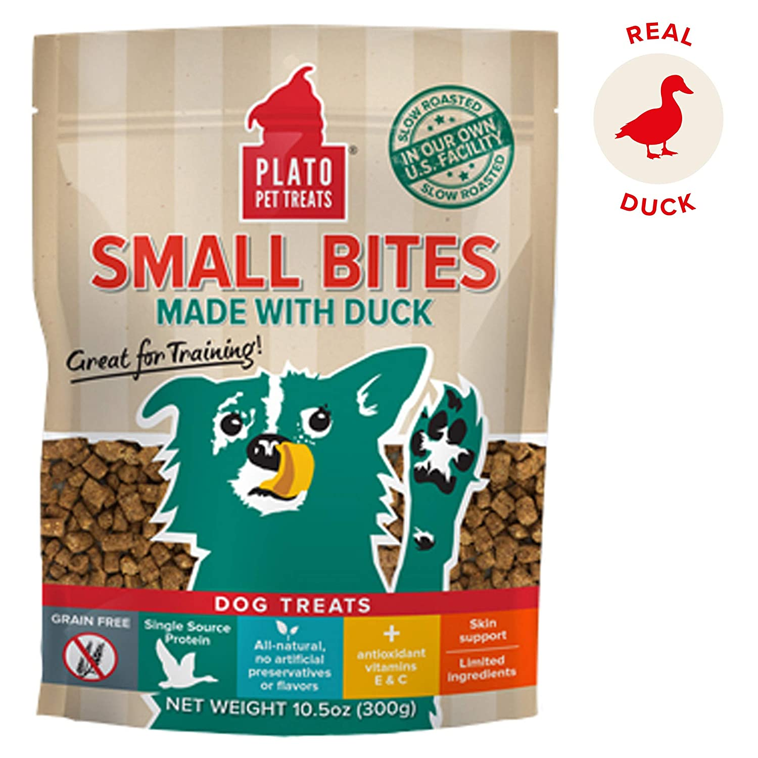 Plato Small Bites Natural Duck 10.5Oz