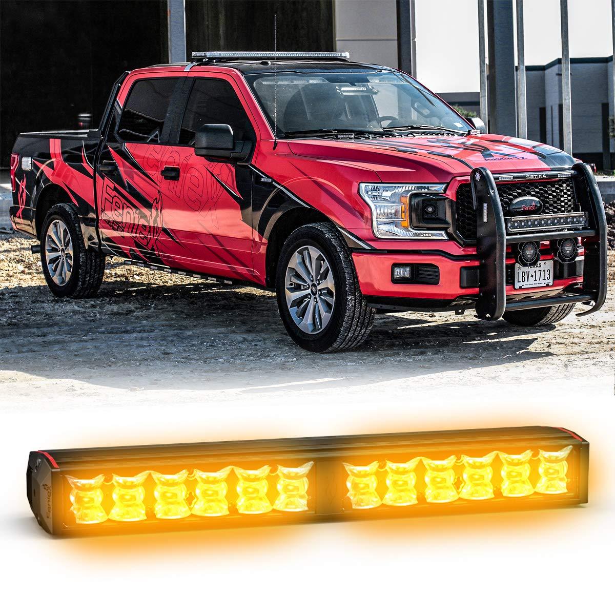 Feniex Fusion 200 Stick Light Single Color Red, 180/°