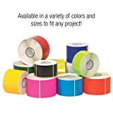 """Tape Logic Inventory Rectangle Label, 10"""" L x 3"""" W, White, Roll of 250"""