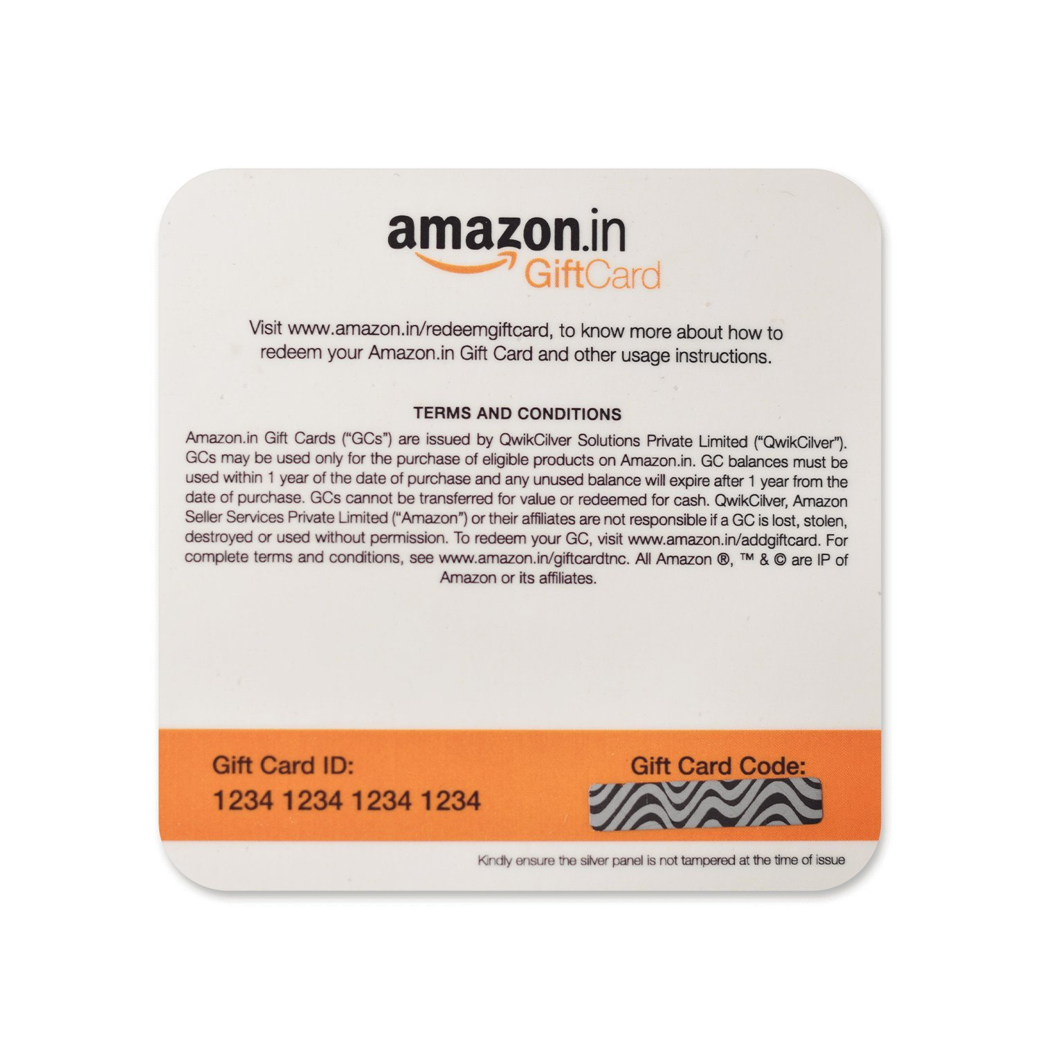 how to get amazon gift card in india