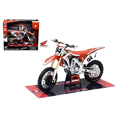 NewRay 57923 DIE-CAST Replica Toy 1: 12 Scale Model Ken Roczen Team Honda HRC Dirt Bike for Orange Cycle Parts: Toys & Games
