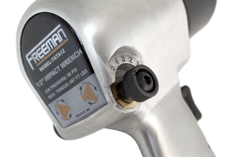"Freeman FATA12 1/2"" Aluminum Air Impact Wrench by Freeman (Image #3)"