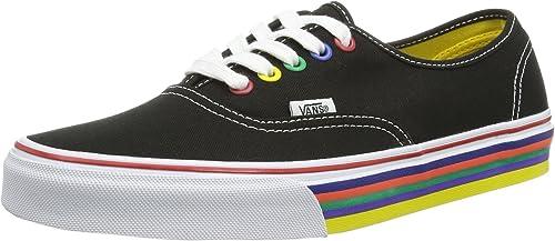 rainbow sole vans uk