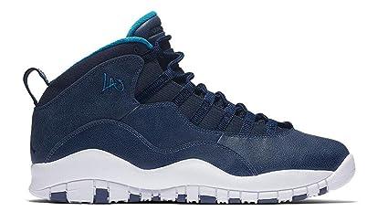 5c6843997c7992 ... amazon air jordan retro 10 mens basketball shoes 310805 404 black venom  green cool 80dbf daff9 ...
