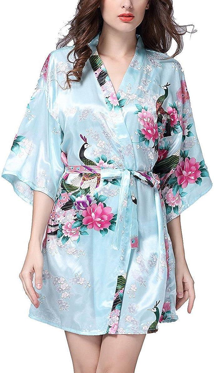 Mobarta Women's Kimono Robe...