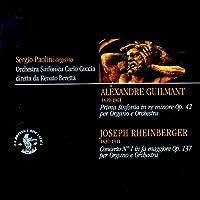 Alexandre guilmant & joseph rheinberger : Organo e orchestra