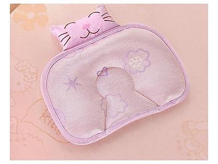 UHUA - Almohada cómoda para bebé, gato, algodón recién ...