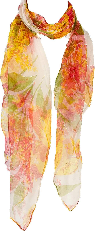 Silk Watercolor Scarf Silk...