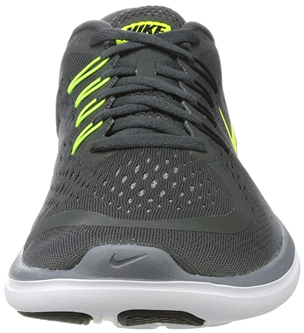 Amazon.com | Nike Mens Flex 2017 RN Shoes Anthracite Grey Black Size 12.5 | Road Running