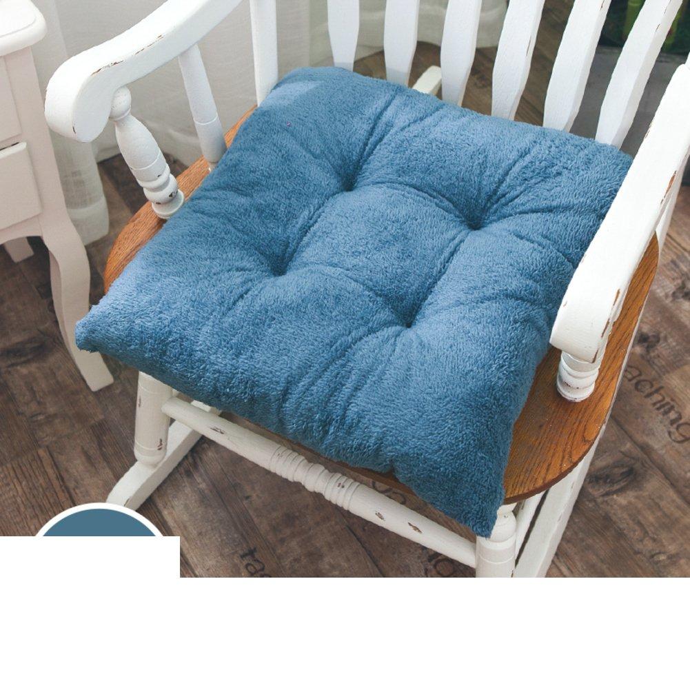 oshdkslds Plushクッション、冬オフィスチェアクッション厚い暖かい学生コンピューター椅子パッド椅子クッション 20*20in ピンク DIPDJSPGS B07BQDT26Q 20*20in|ピンク ピンク 20*20in