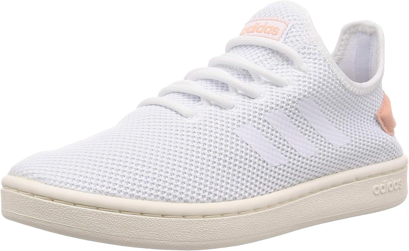 White/Dusk Pink - UK Shoe Size
