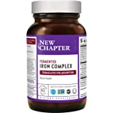 New Chapter Iron Supplement, Fermented Iron Complex (Formerly Iron Food Complex) with Organic Whole-Food Ingredients + Promot