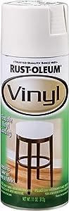 Rust-Oleum 1911830 Vinyl Spray, 11 oz, White