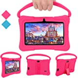 Kids Tablets PC, Veidoo 7 inch Android Kids Tablet with 1GB Ram 16GB Storage, Safety Eye Protection IPS Screen, Premium Paren