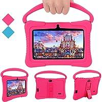 Veidoo Tablet voor kinderen, 7 inch tablet met 1 GB RAM/16 GB geheugen, IPS-scherm, premium ouderbesturing iWawa APP…