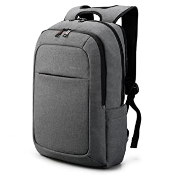 4471be6060af Tigernu Slim Business Laptop Backpacks Anti Thief Tear Water Resistant  Travel Bag fits up to 15 15.6 Inch Computer Backpack in Gray (Dark Grey)   Amazon.ca  ...