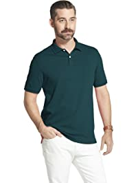 55dd5e4e2497 Arrow Mens Short Sleeve Interlock Heathered Polo Shirt Polo Shirt
