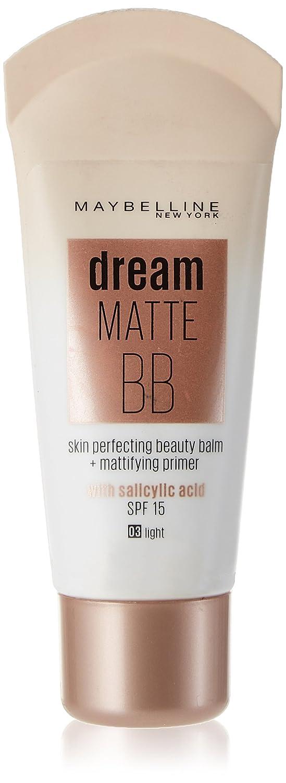 Maybelline Dream Matte, BB Cream SPF15, tono medio, 30 ml 3600530878864