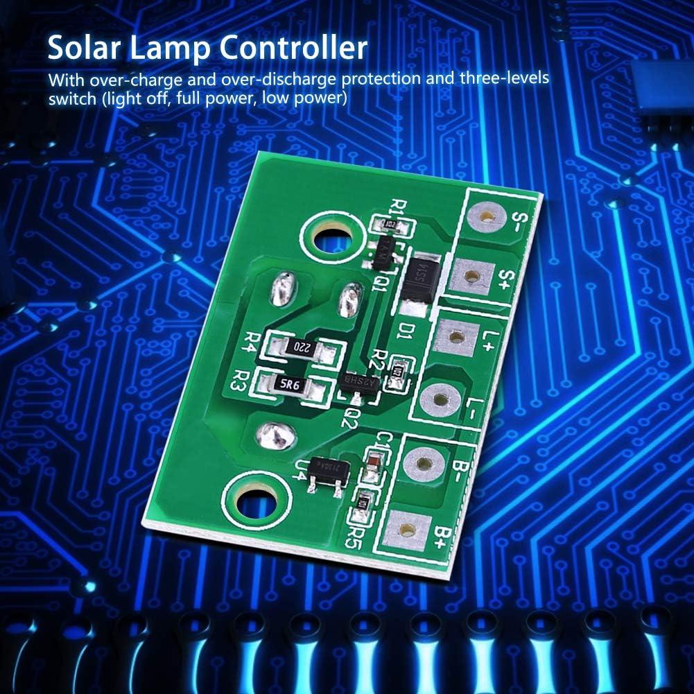 Circuit imprim/é principal Panneau de commande de lumi/ère solaire pour pelouse Composant de contr/ôle industriel Dispositif haute pression moyenne avec batterie 3,7 v