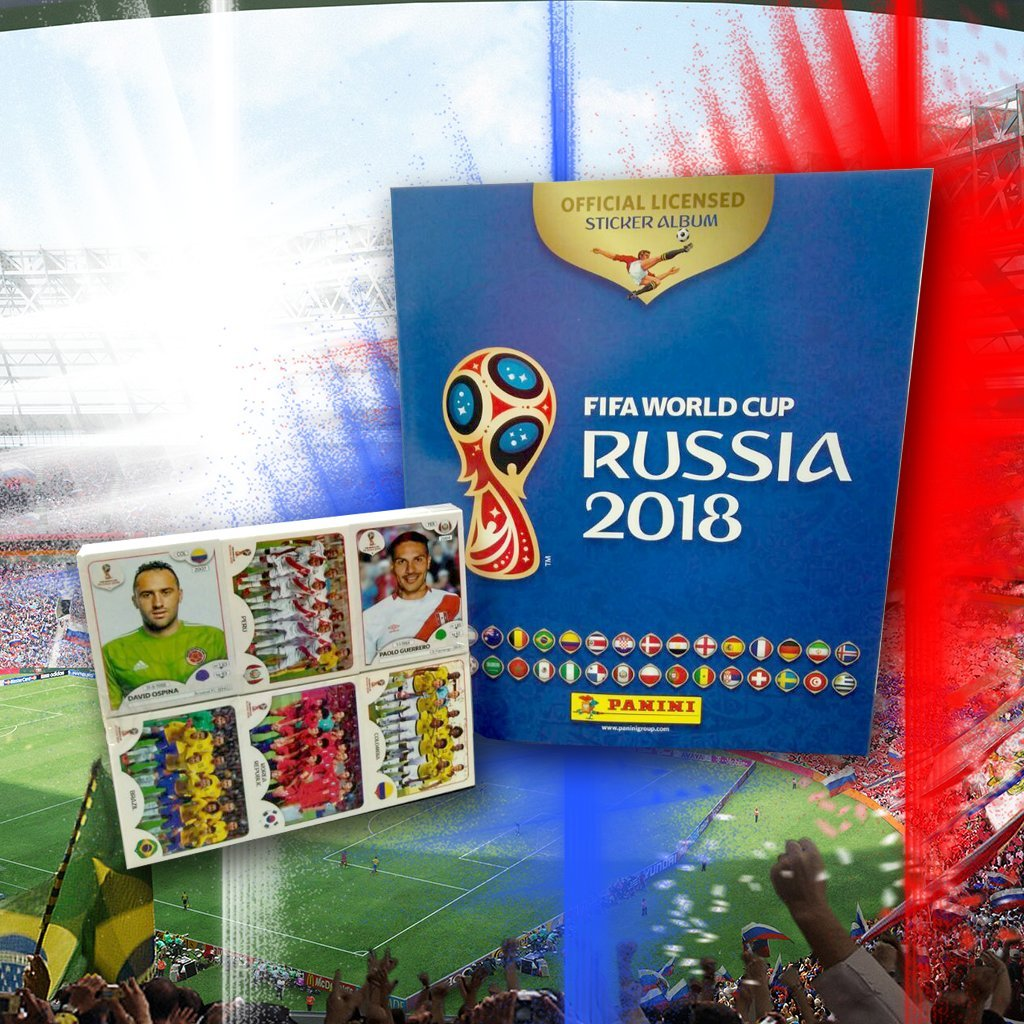 Panini Russia 2018 World Cup Official Licensed product Complete Sticker Collection + FREE Empty Hard Cover Album International Version by Panini (Image #2)