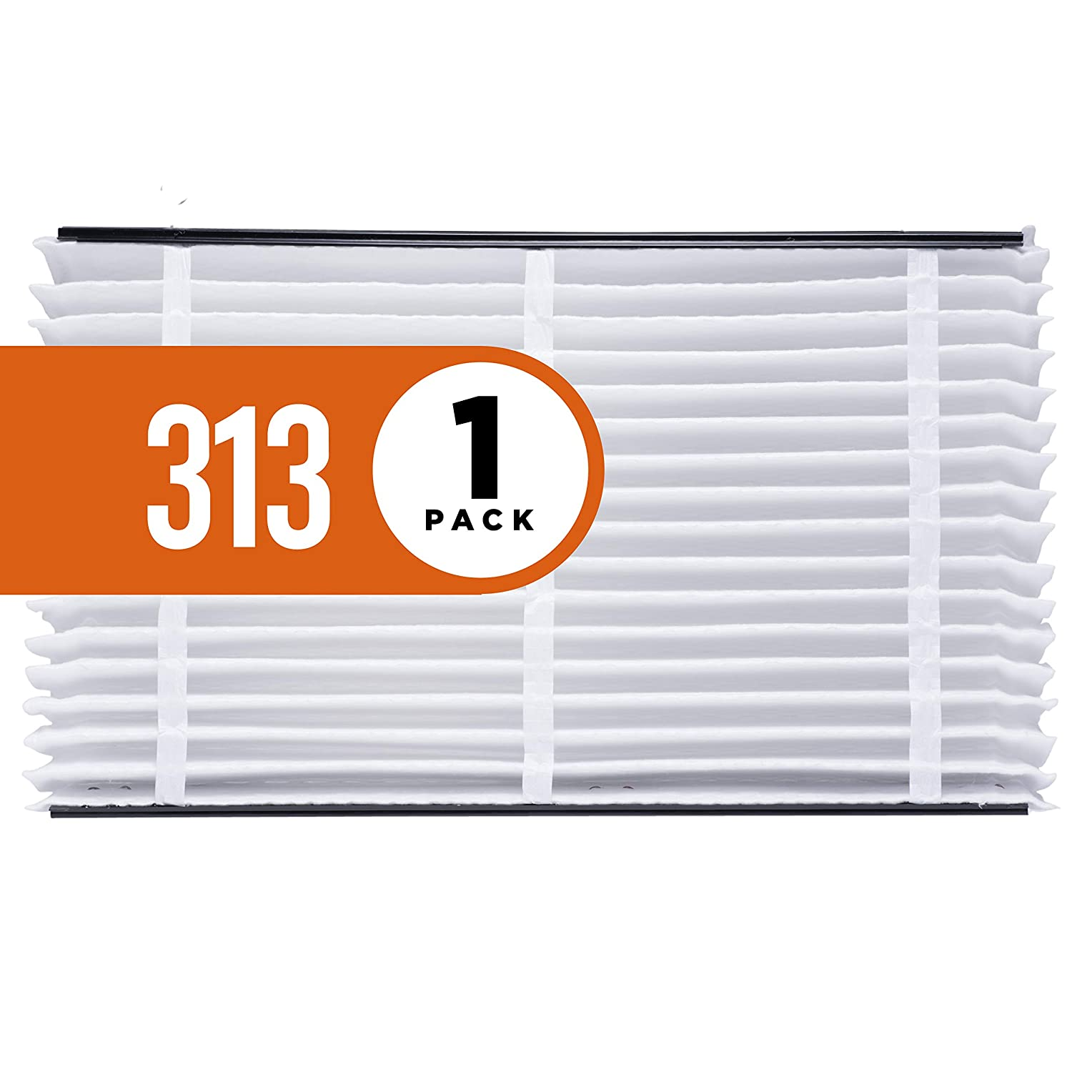 Aprilaire 313 Air Filter for Aprilaire Whole Home Air Purifiers, MERV 13 (Pack of 1)