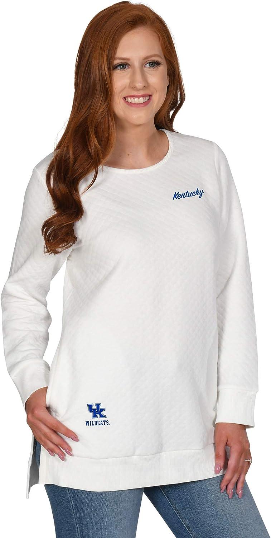 UG Apparel NCAA Womens Quilted Pocket Tunic