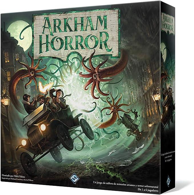 Fantasy Flight - Arkham Horror 3ª Edición - Español (AHB01ES): Amazon.es: Juguetes y juegos