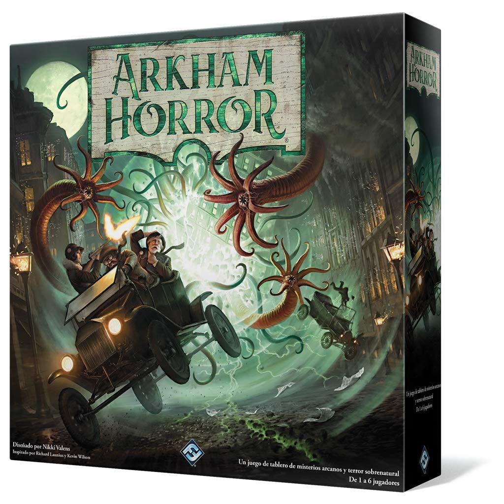Fantasy Flight Arkham Horror 3 A edición-Español, colore (ahb01es)