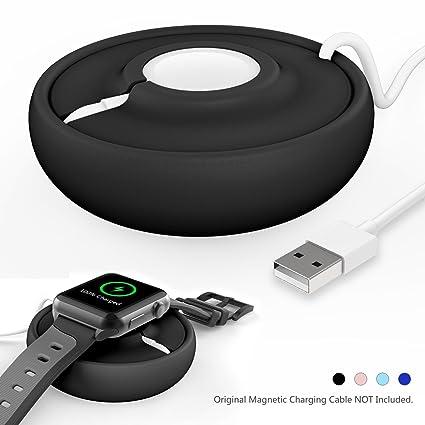Amazon.com: Apple Watch estación de carga Cuna soporte ...