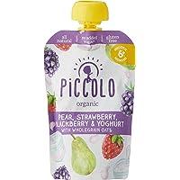 Piccolo Organic Pear, Strawberry, Blackberry & Yoghurt 100g