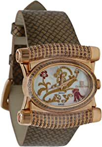 Christian Geen Analog Watch For Women - Leather, Brown - 4207Llsw-Wh