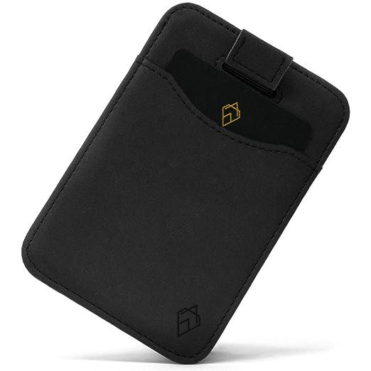 AKIELO Monedero | Tarjeta Monedero Minimalista RFID Bloqueo ...