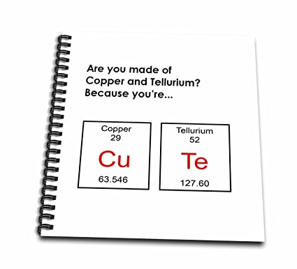 Amazon 3drose are you made of copper tellurium because youre 3drose are you made of copper tellurium because youre cute periodic table urtaz Image collections