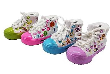 Lote de 20 Huchas Zapatilla Girl - DISOK. Perfecto regalo para Comuniones Niñas. Comunión, Comunion, Cumeplaños: Amazon.es: Juguetes y juegos