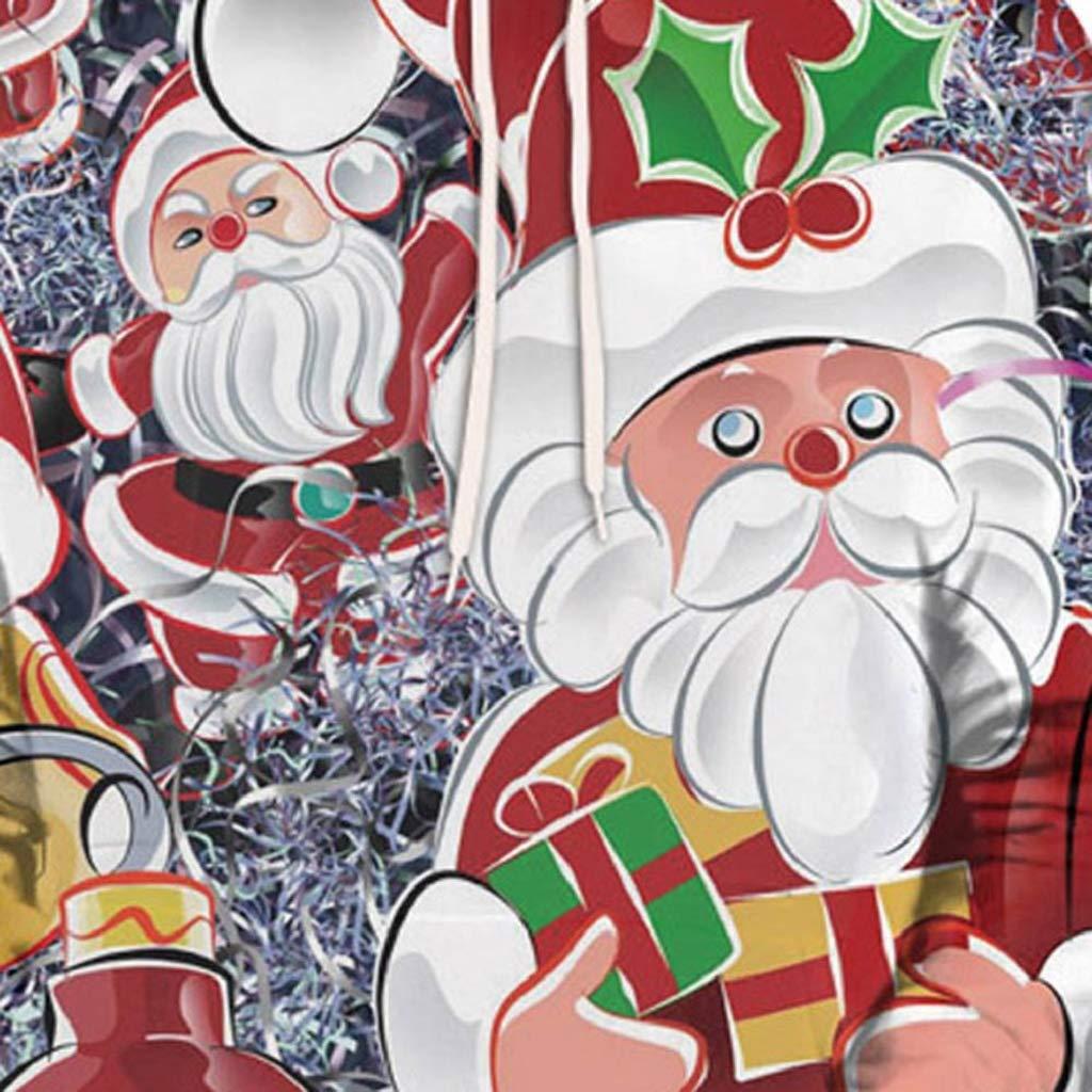 Soupliebe Frauen Weihnachten Langarm Wapiti Bluse Sweatshirt ...
